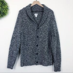 Old Navy || Heather Blue Button Front Cardigan L